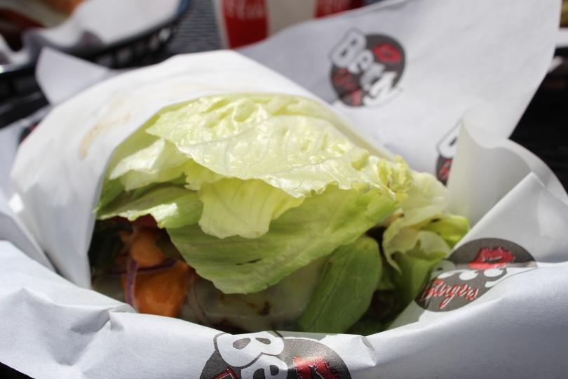 A o týden později jsem bříško naplnila lahůdkou z Betty's Burgers:)