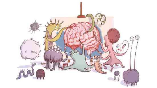 Bakterie komunikují s mozkem!