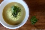 Brokolicovo-hořčičná polévka (s bramborovýmivločkami)