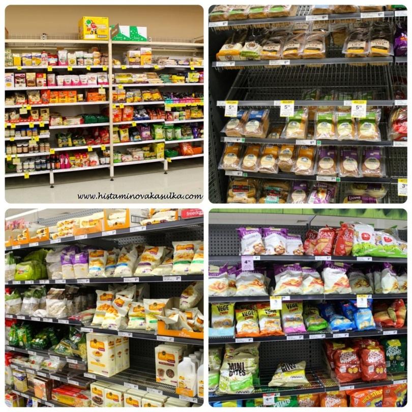 Žádné hledání mezi normálním zbožím jako v našich některých obchodech, takže odpadají hodinové nákupy