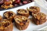 Ořechové rolky s ovocem a skořicí (trénujeme naVánoce:))