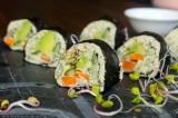 Červené mořské řasy v jídelníčku alergika a recept na Řasu nori plněnou slunečnicovýmkrémem