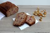 Vánoční brusinkovo-ořechový chlebík