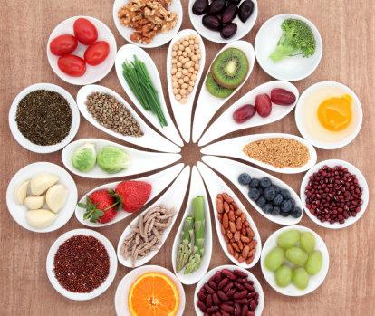 Health Food Platter