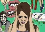 Nejsem blázen, jen mě vytáčí, když mi někdo křoupe doucha!